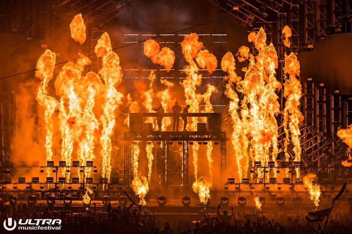 Swedish House Mafia, Ultra 2018, Miami