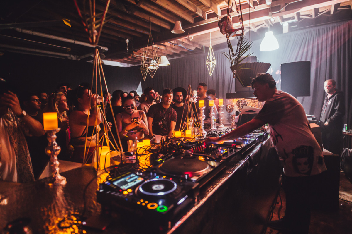 Seth Troxler performed an intimate sunrise sermon to kick off Get Lost.