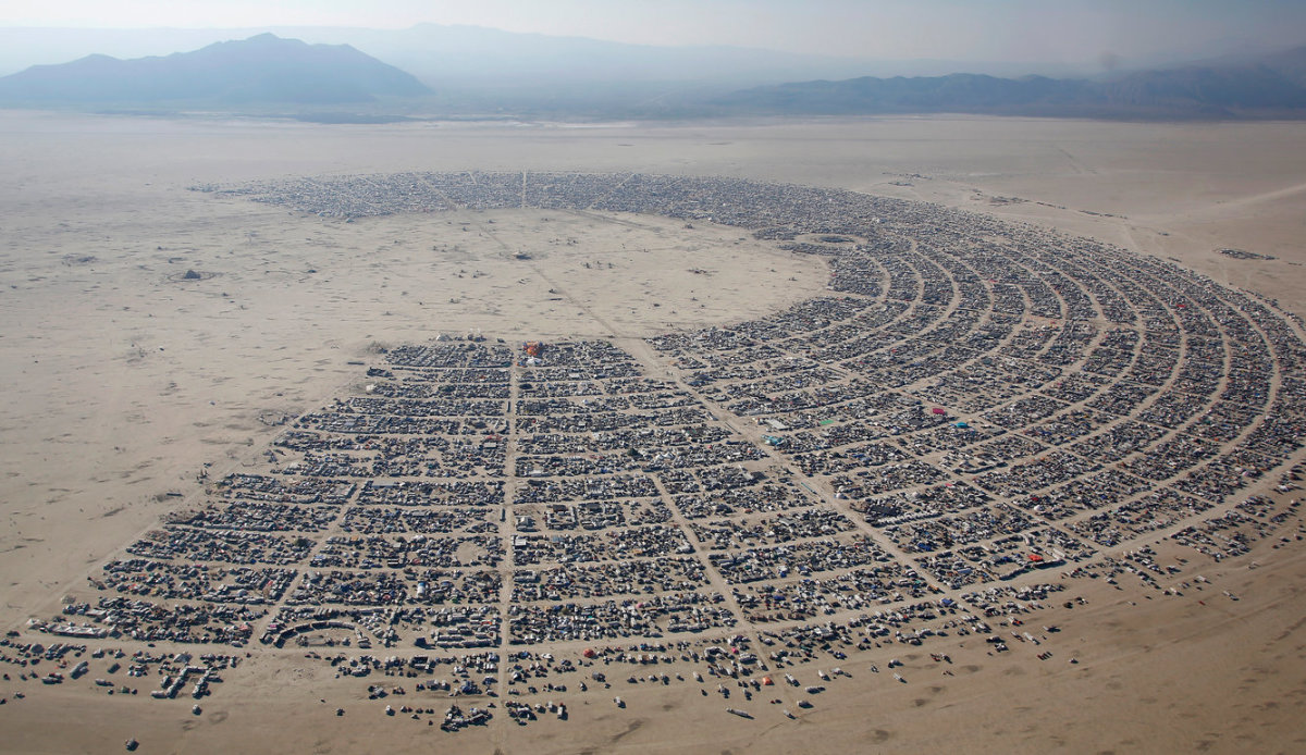 Burning Man Death Considered Suspicious by Authorities