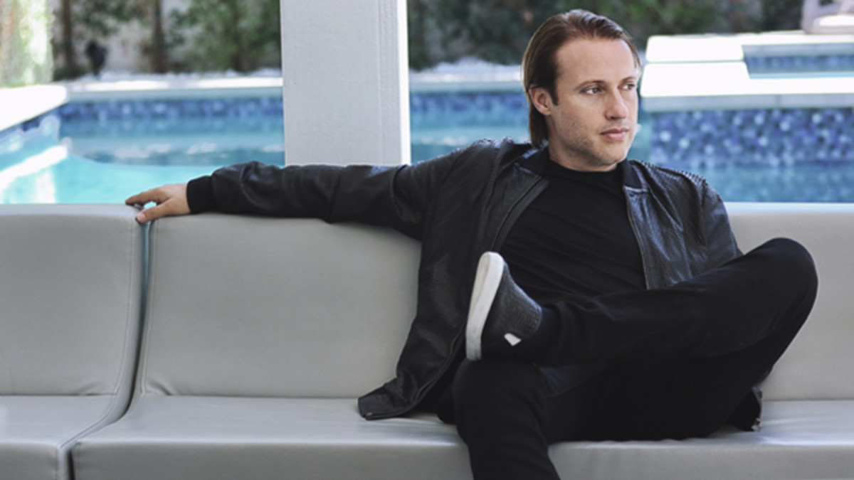 EDX on couch