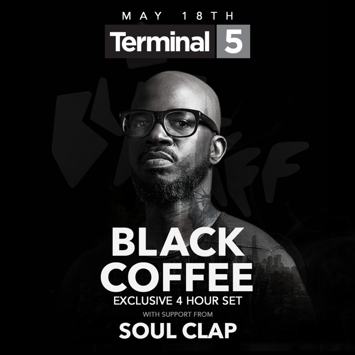 Black Coffee Terminal 5 NYC - May 18 2018 Show