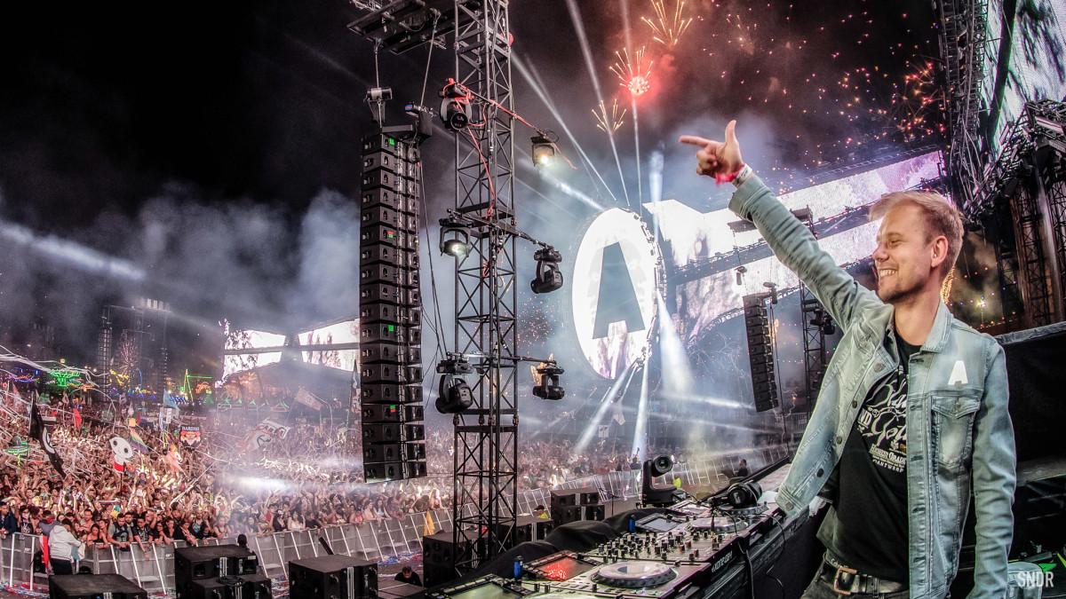 Armin Van Buuren EDC 2018