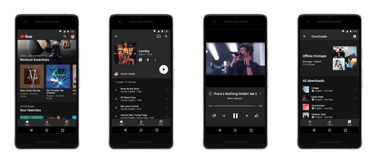 Android YouTube Music Application