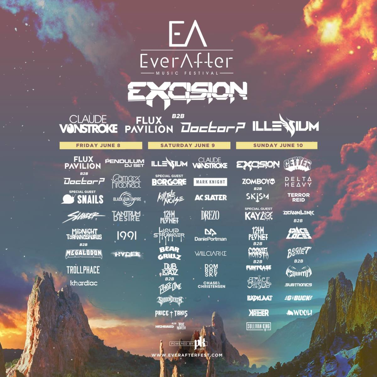 Ever After Lineup