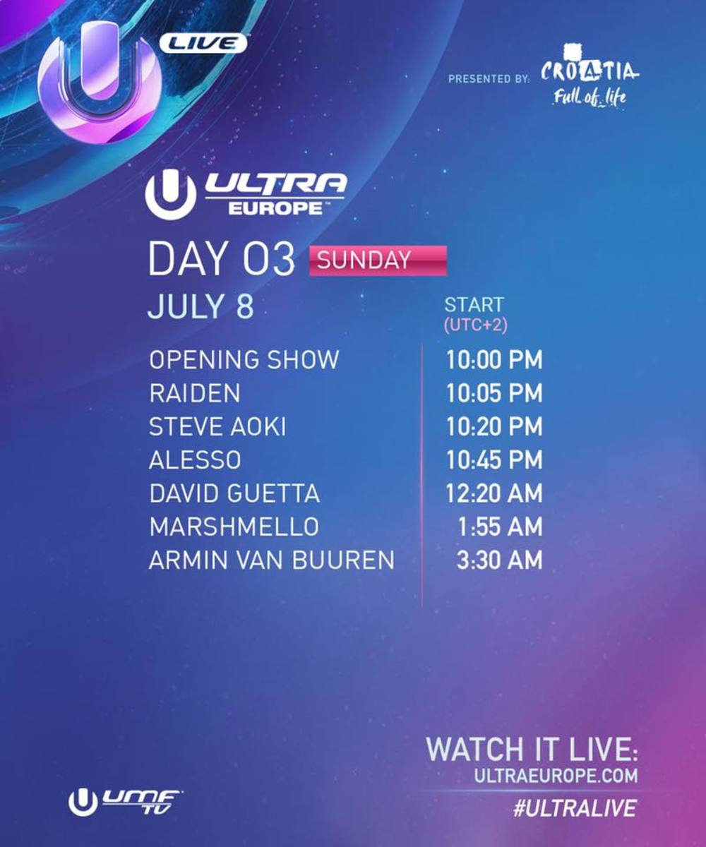 Day 3 of Ultra Europe