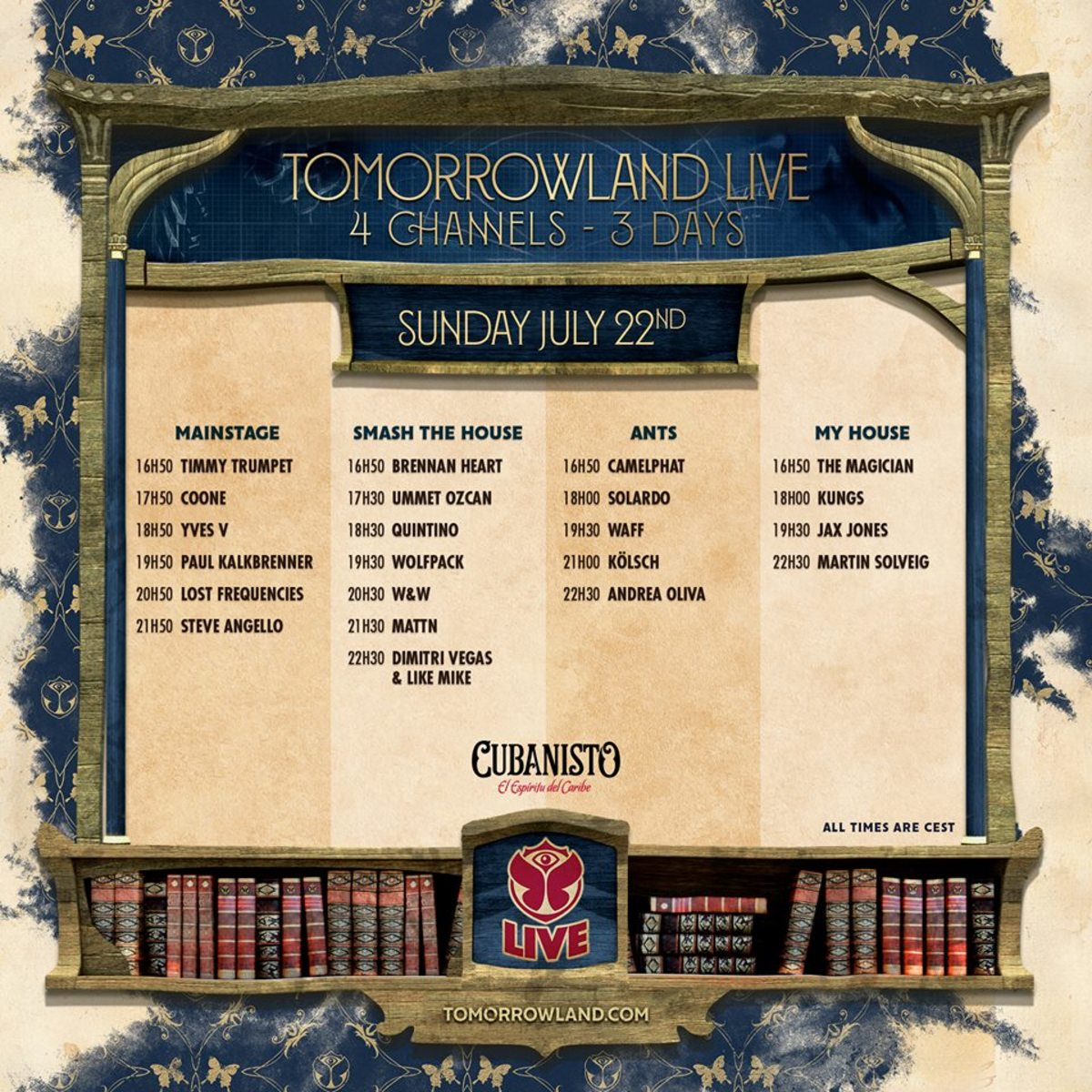 Tomorrowland Live day 3