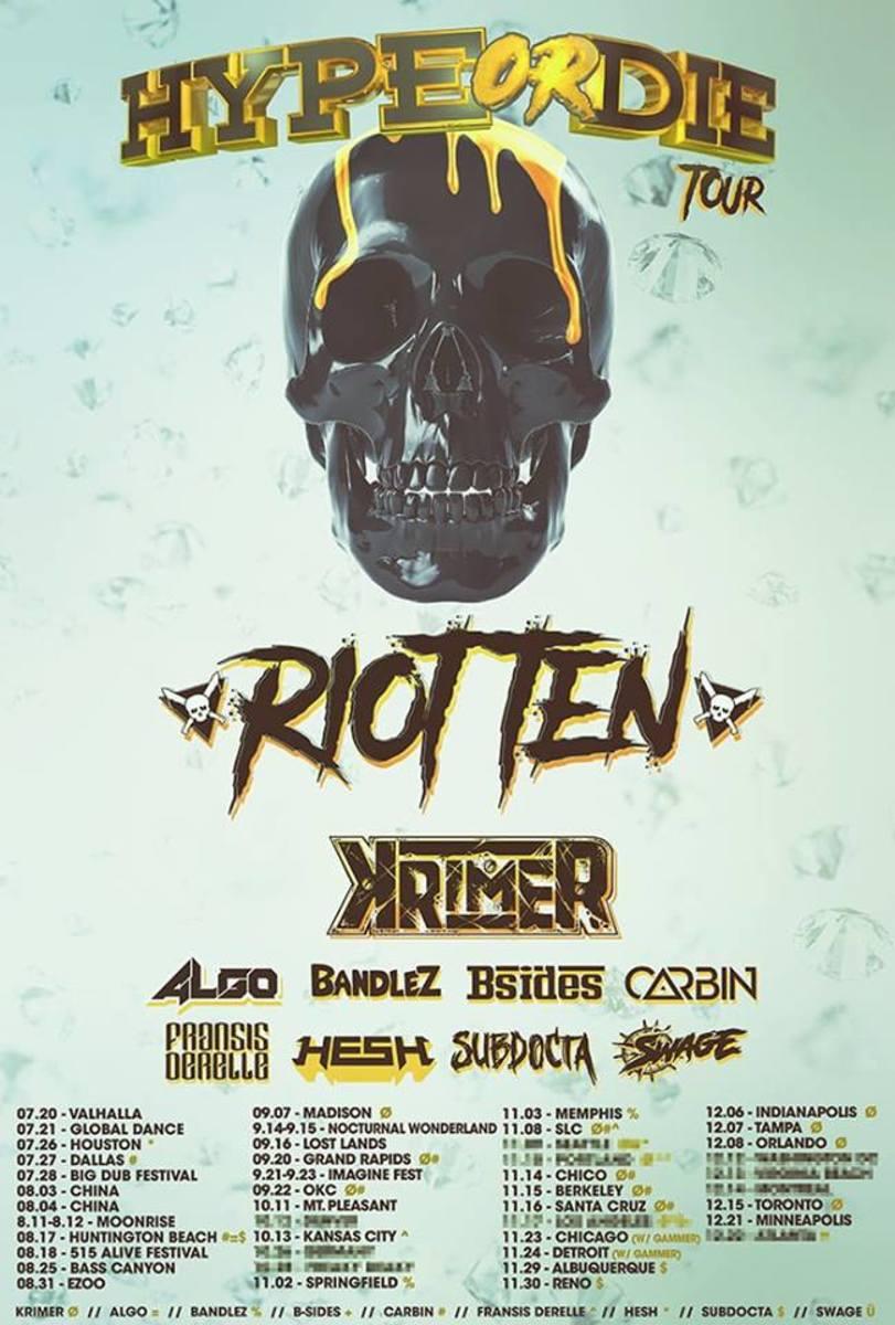 Riot Ten HYPE OR DIE Tour