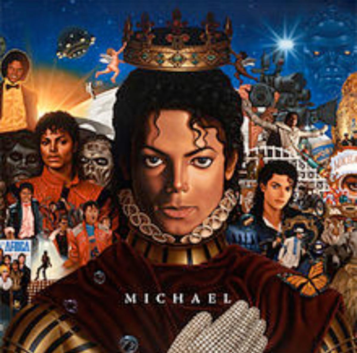 Michael Album Cover. Photo: Sony Music.