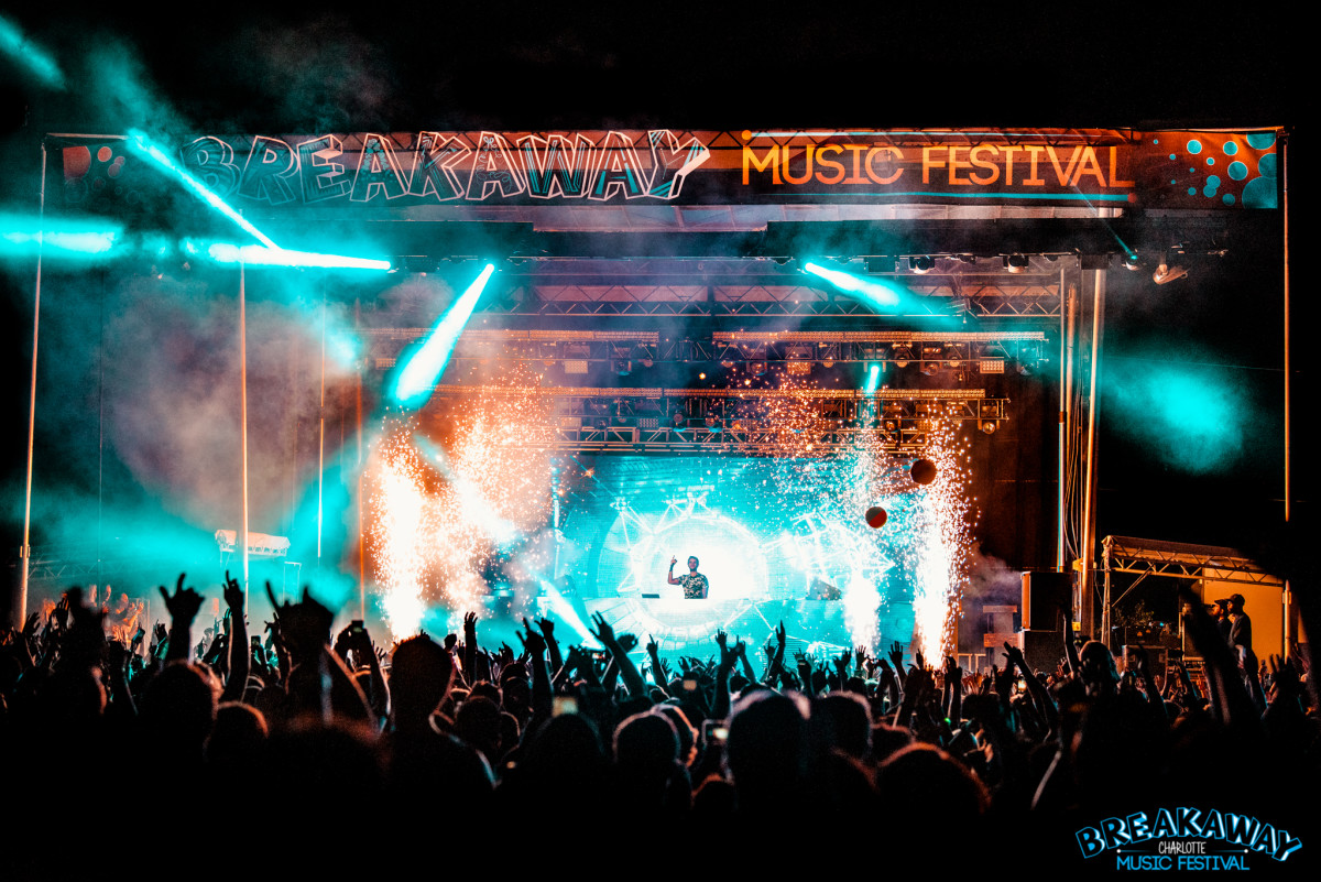 Breakaway Music Festival Charlotte North Carolina