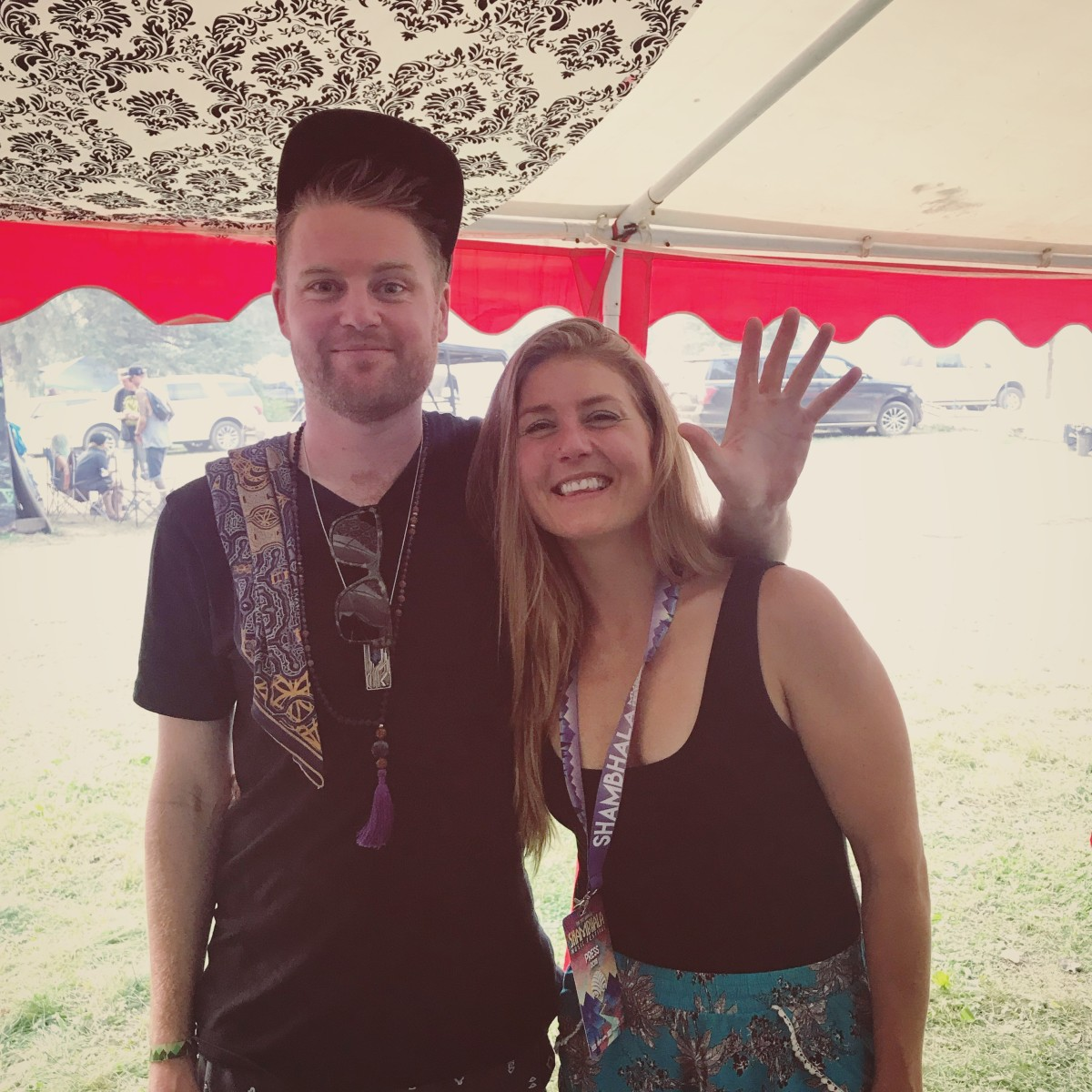 Opiuo and Me at Shambhala