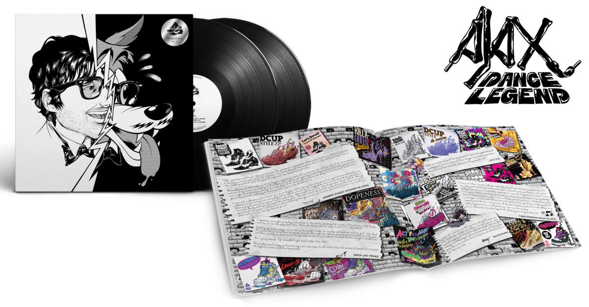 ajax dance legend vinyl