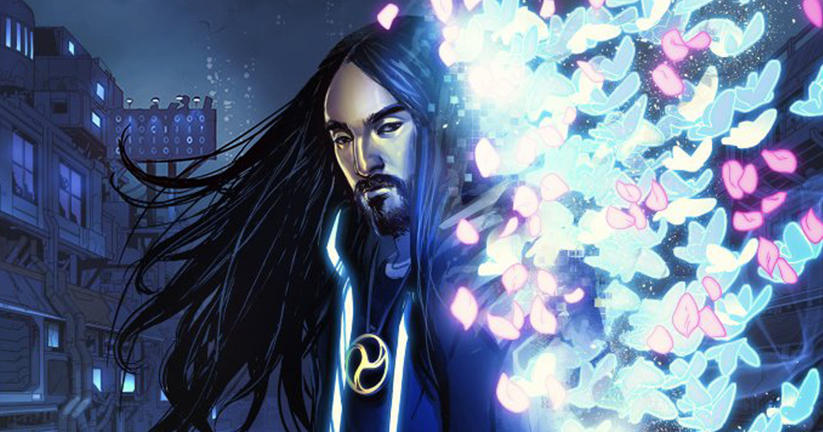 Steve Aoki Debuts His 'Neon Future' Comic at the New York Comic Con