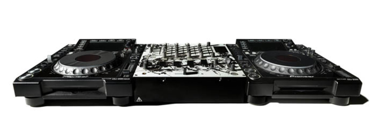 Steve Aoki's DJ equipment was recently donated to the museum.
