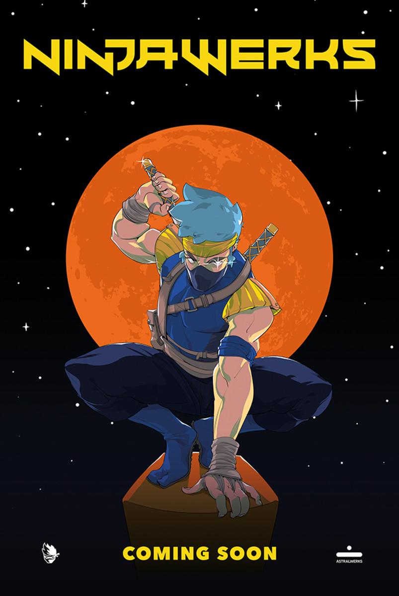 Ninjawerks artwork. Illustration by Jai Kamat