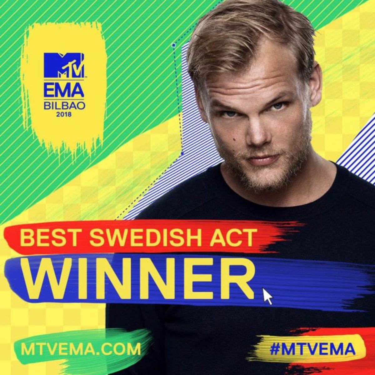 MTV Europe Music Awards 2018 - Best Swedish Act - Avicii