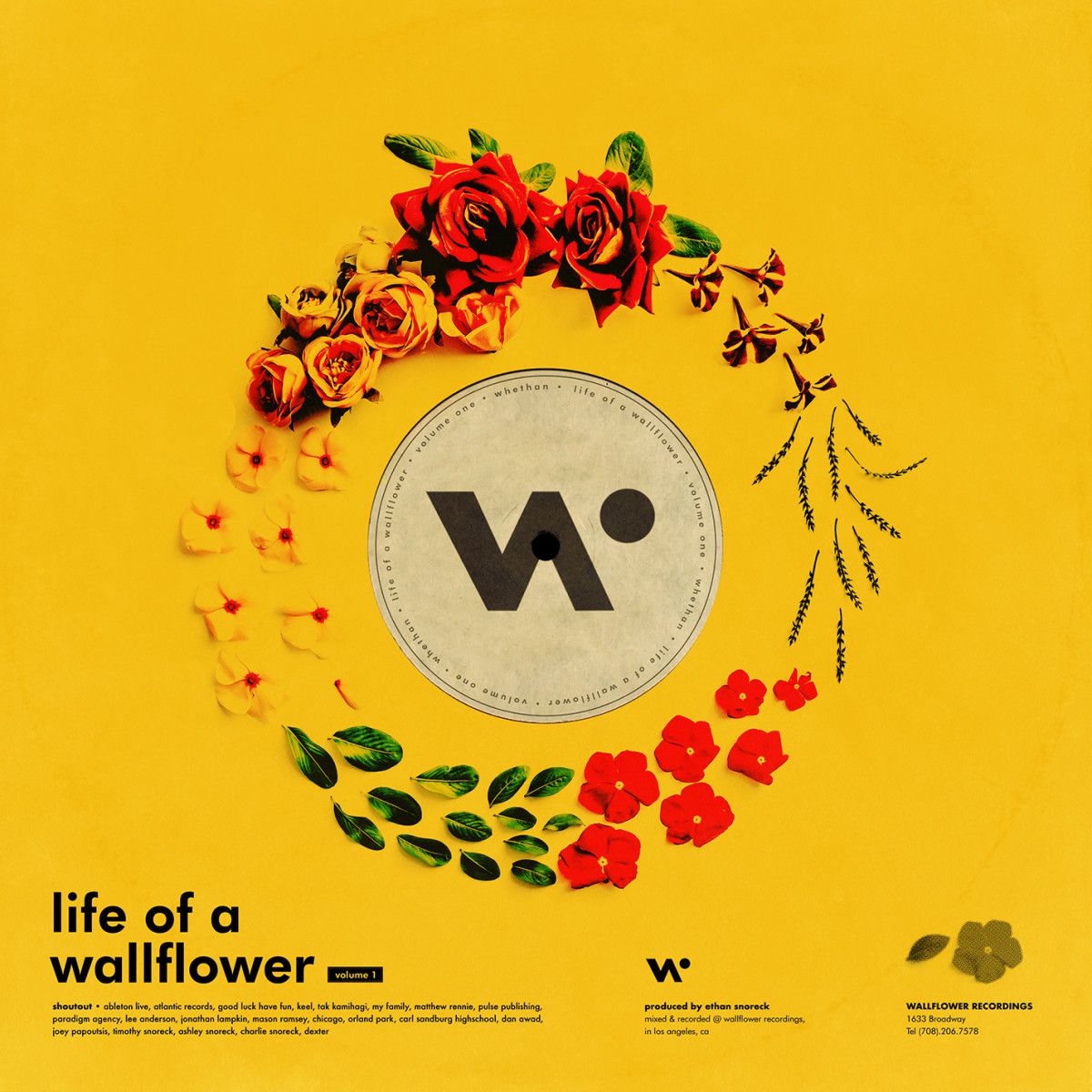 Whethan - Life of a Wallflower Vol 1 EP artwork