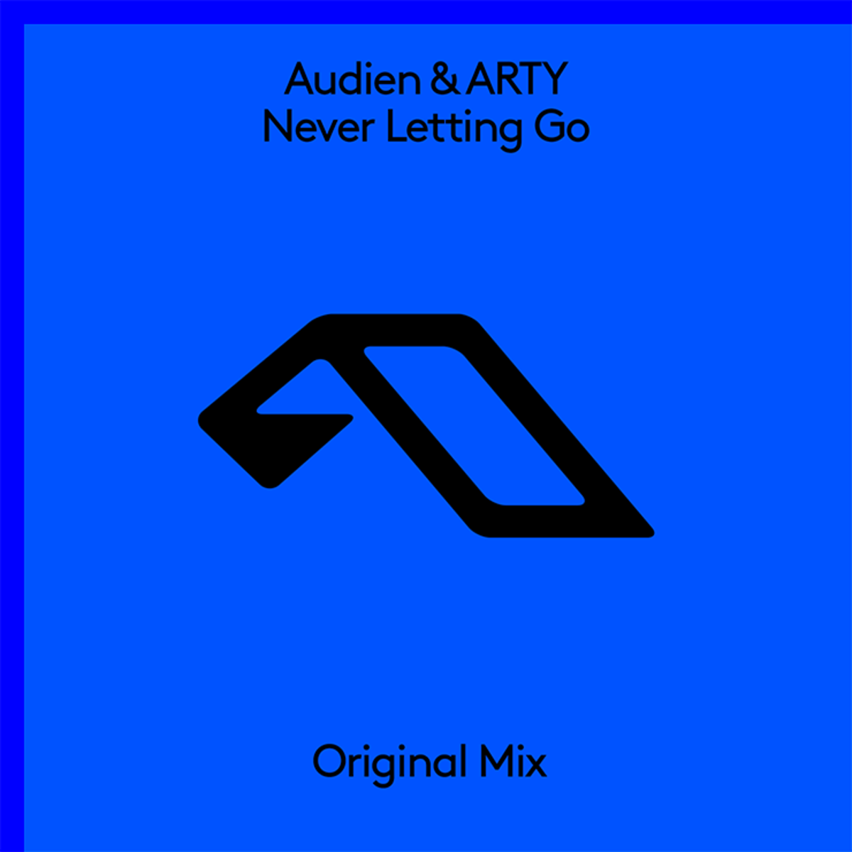 Audien ARTY Never Letting Go Cover Art Anjunabeats