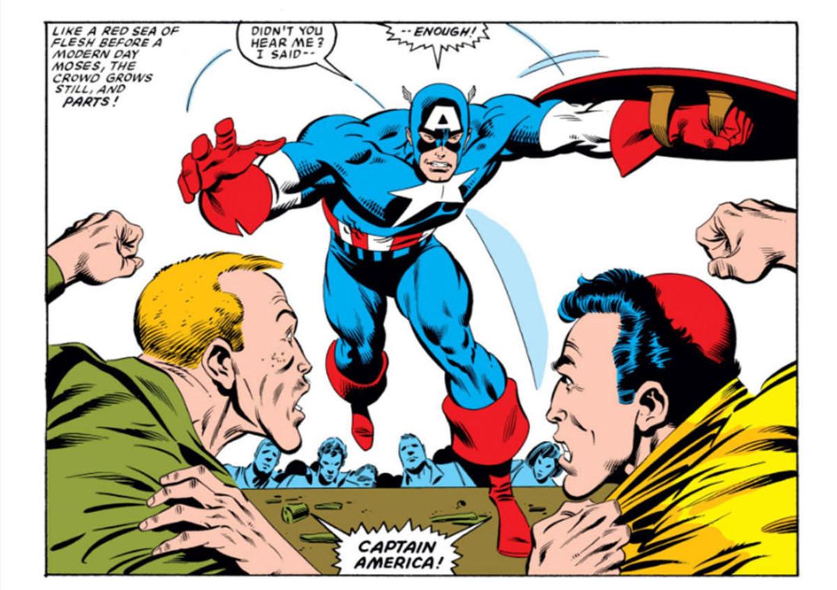 Captain America Comic Marvel