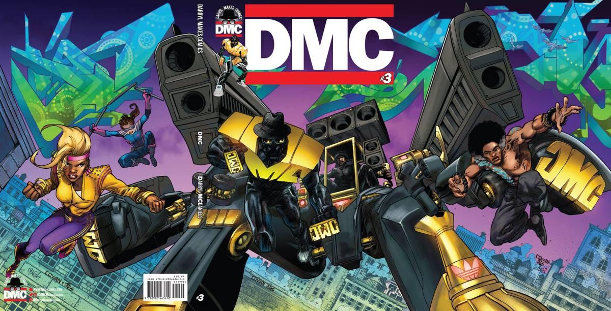 Darryl Makes Comics Darryl McDaniels Comic Book