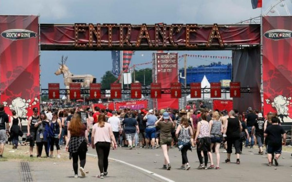 Rock am Festival Entrance