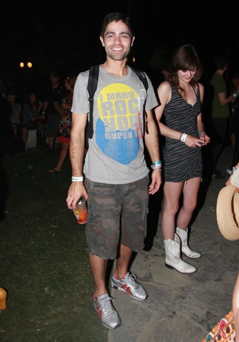 Adrian Grenier at Austin City Limits Music Festival