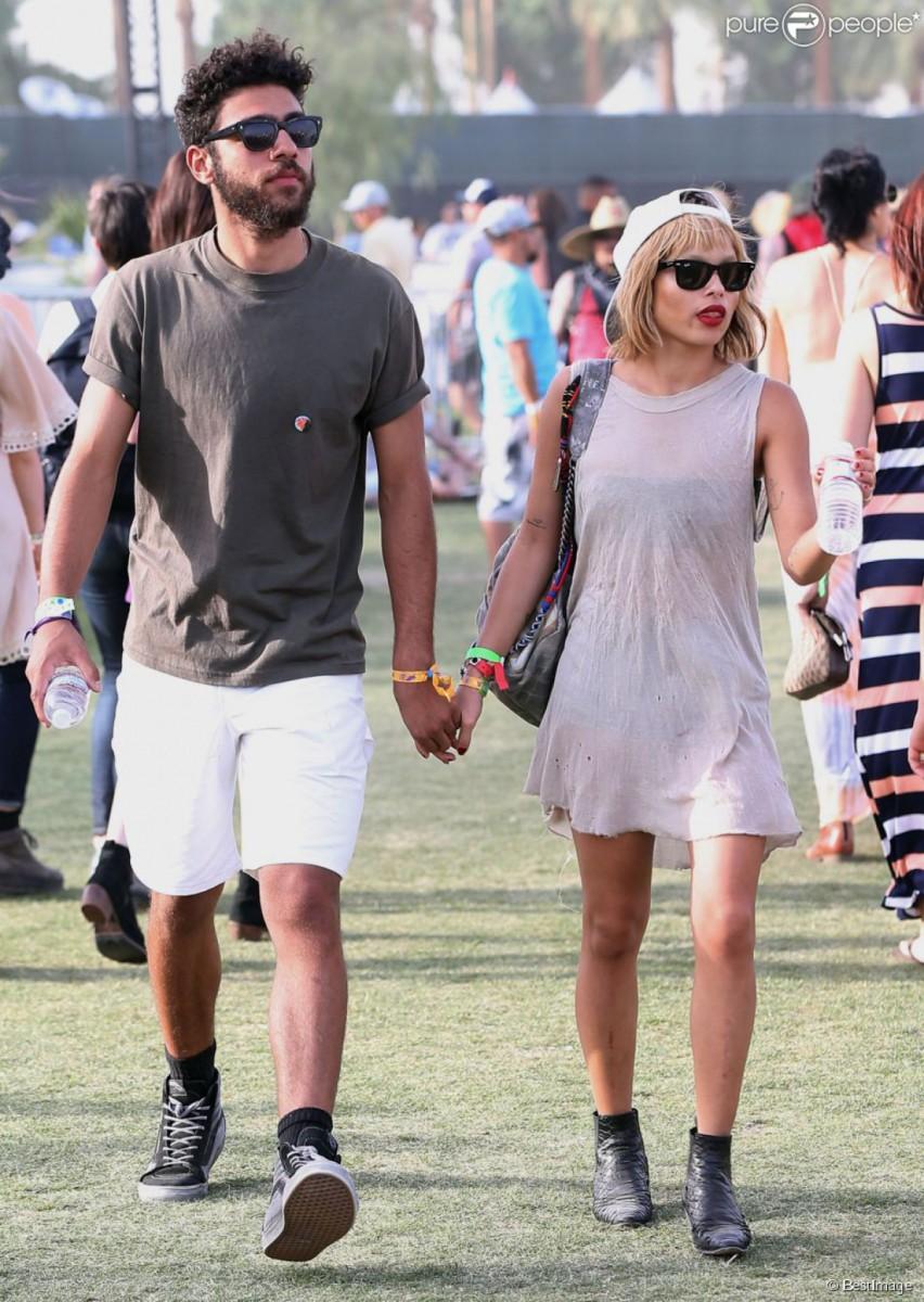 Zoe Kravitz At Coachella Music Festival