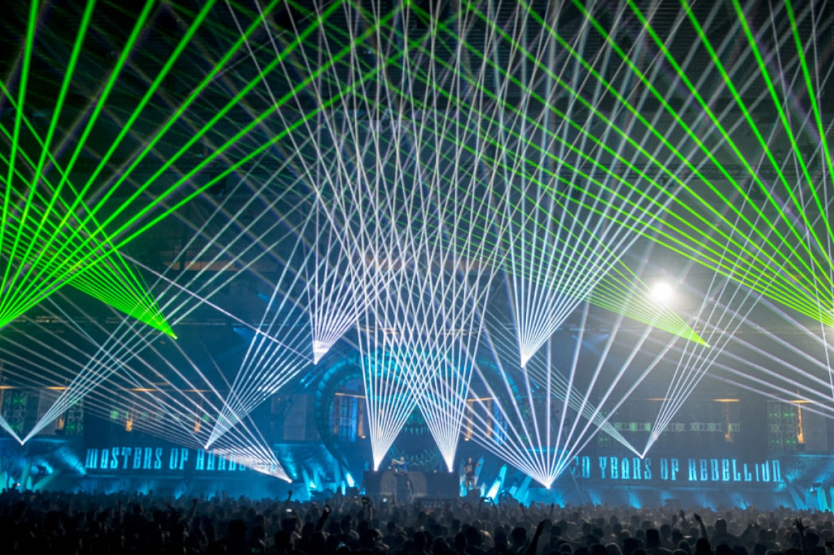 Masters of Hardcore Laser Lightshow