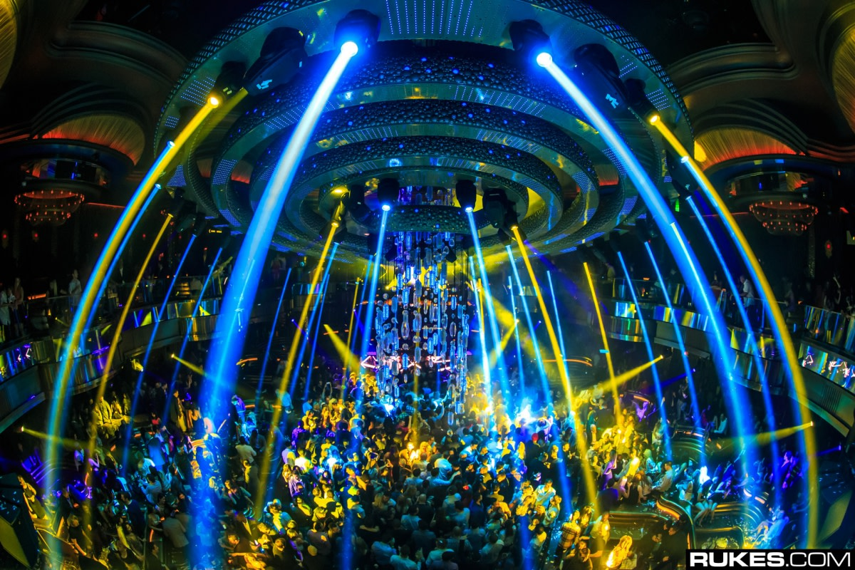 Laser Lightshow at Omnia Nightclub in Las Vegas