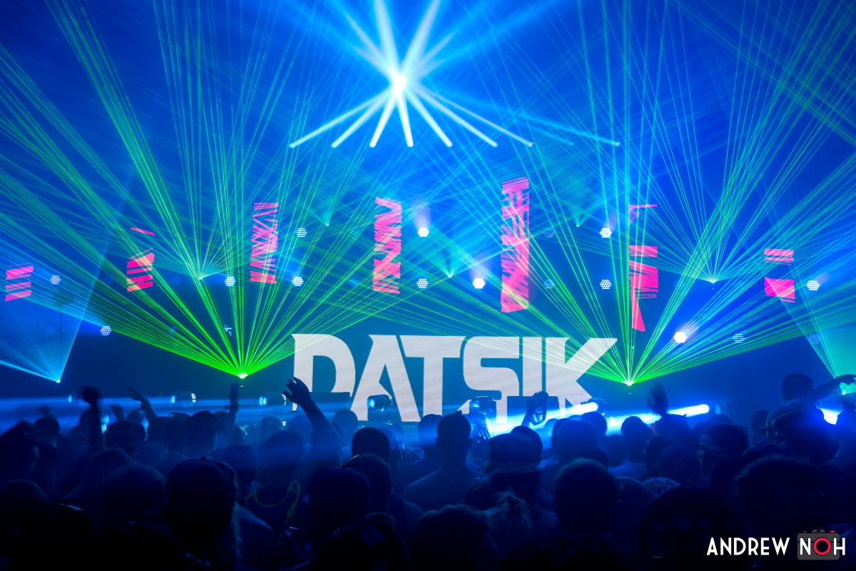 Datsik Laser Lightshow on Tour