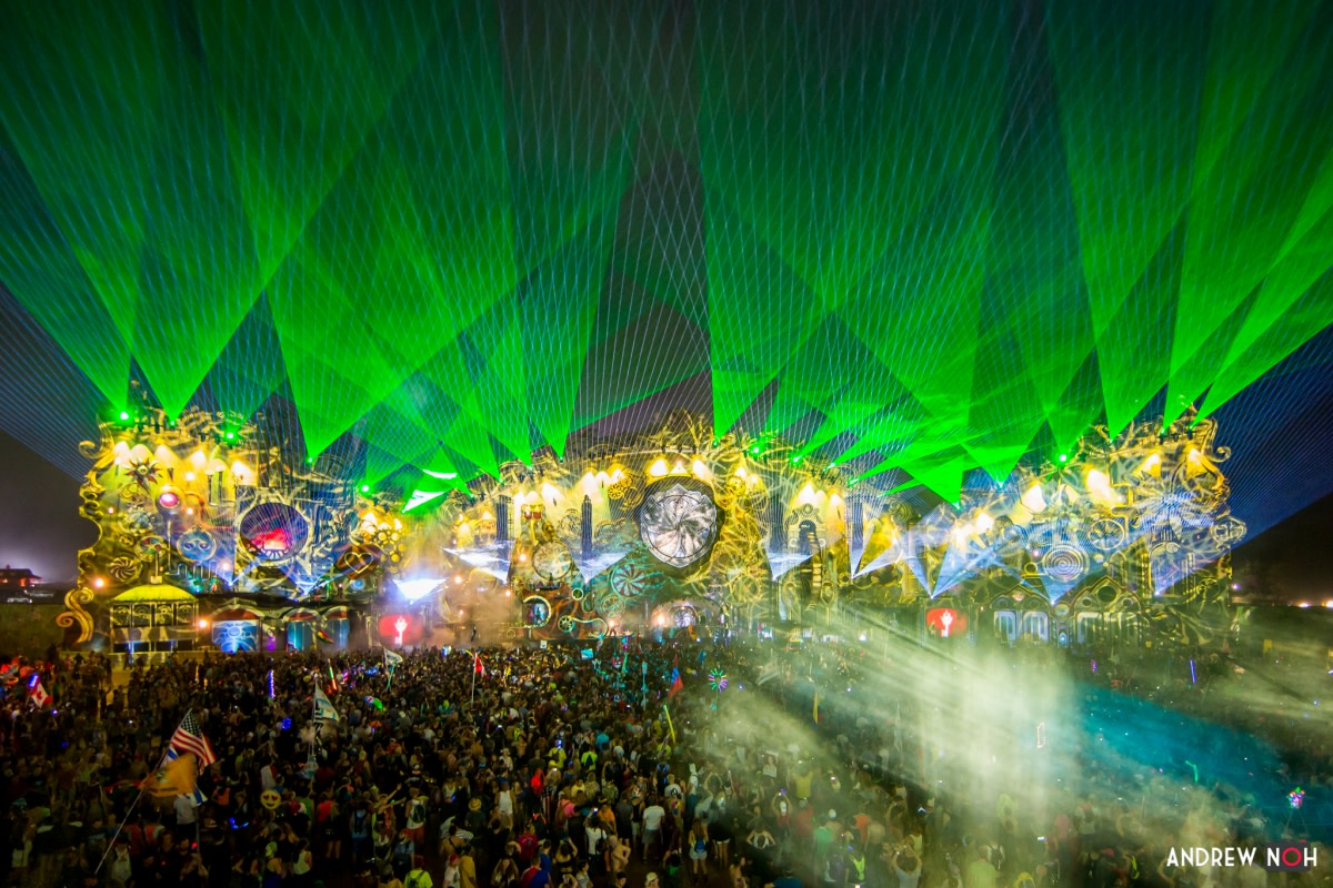 Lightshow and Stage Production at TomorrowWorld Music Festival
