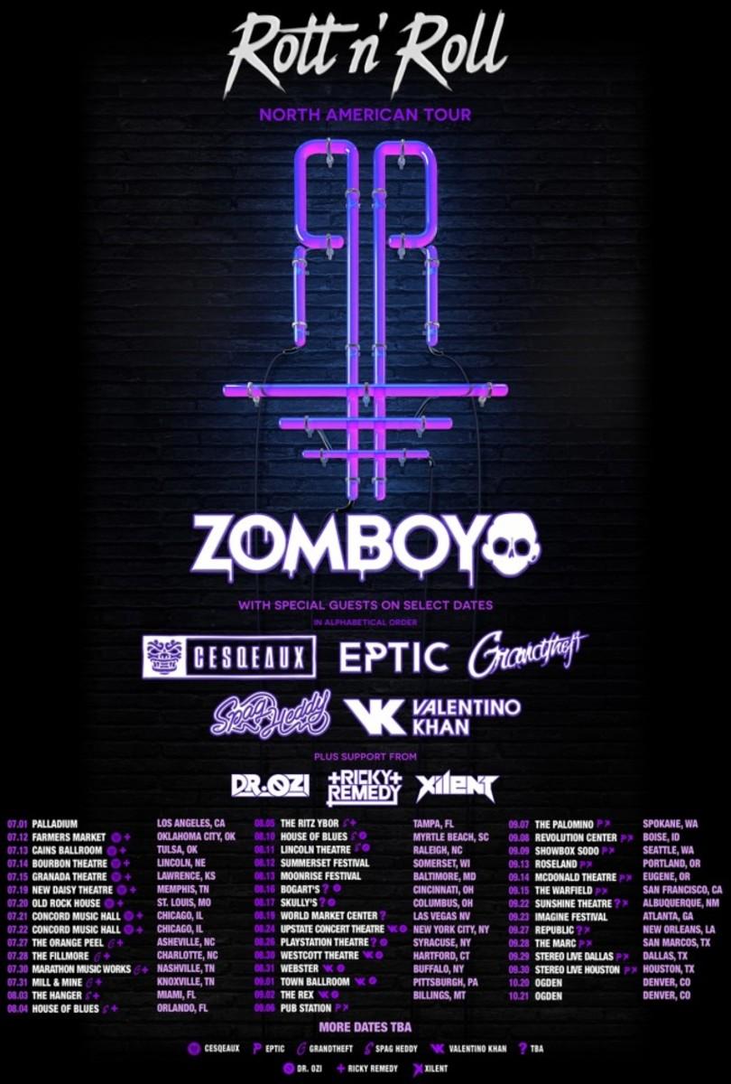 Rott N' Roll Tour Zomboy