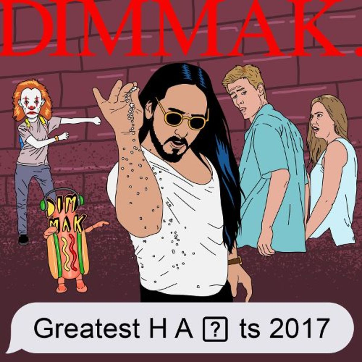 Dim Mak Greatest Hits 2017 artwork
