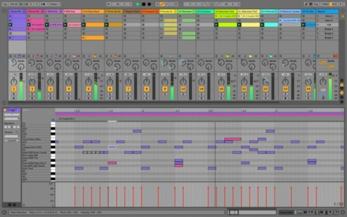 ableton 10 workflow