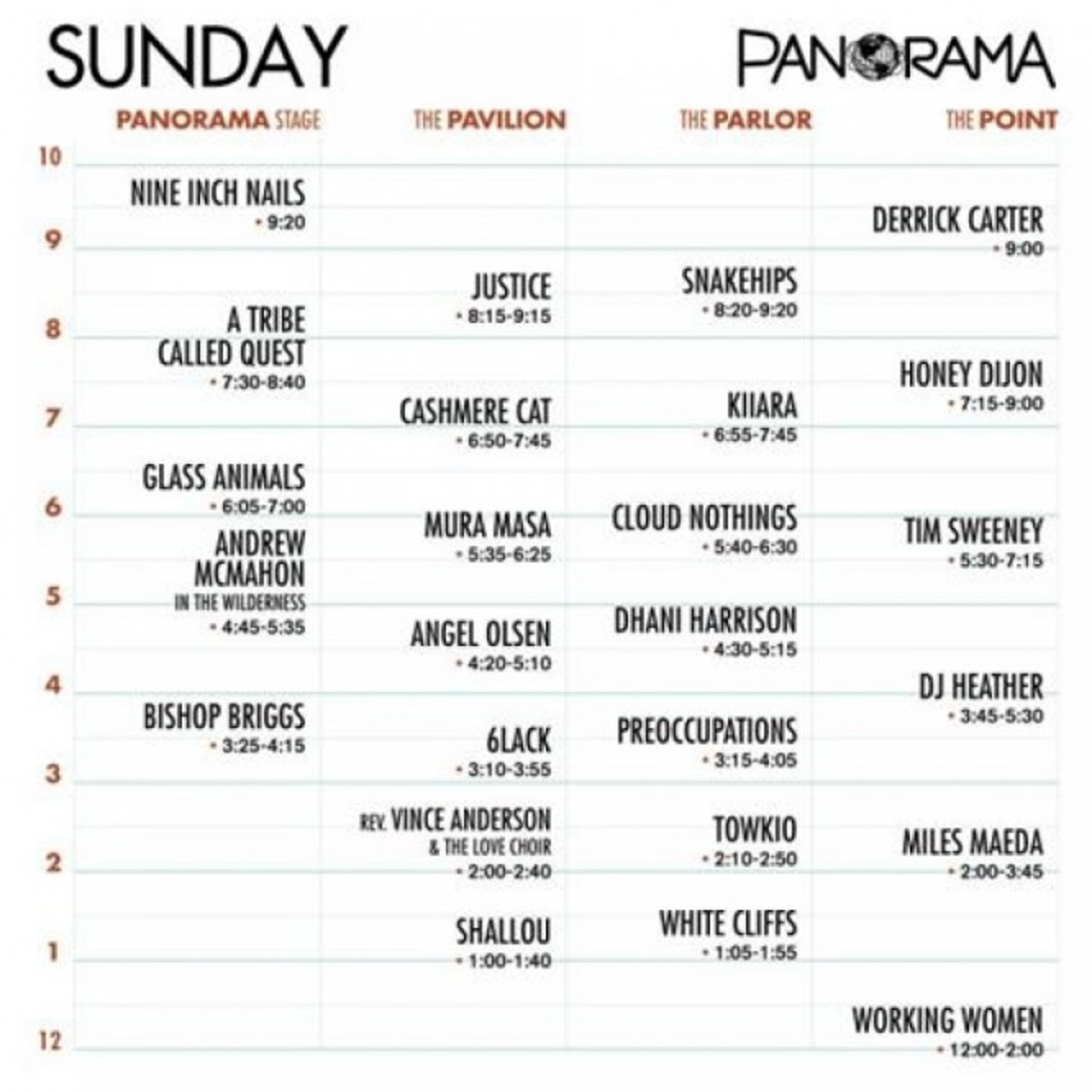 Panorama Schedule - Day 3