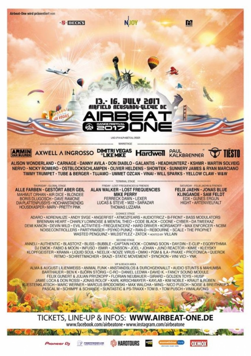 AirBeat One 2017 Lineup