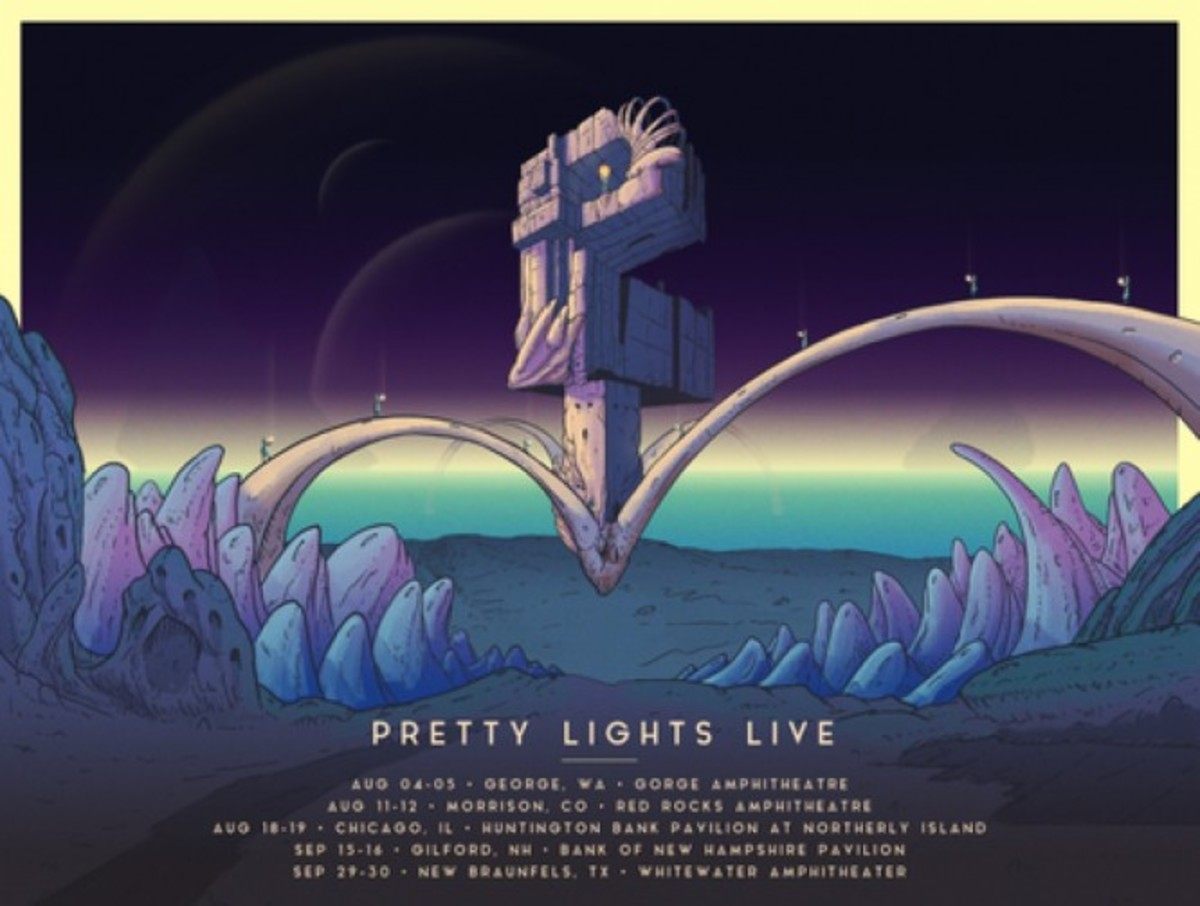 Pretty Lights flyer