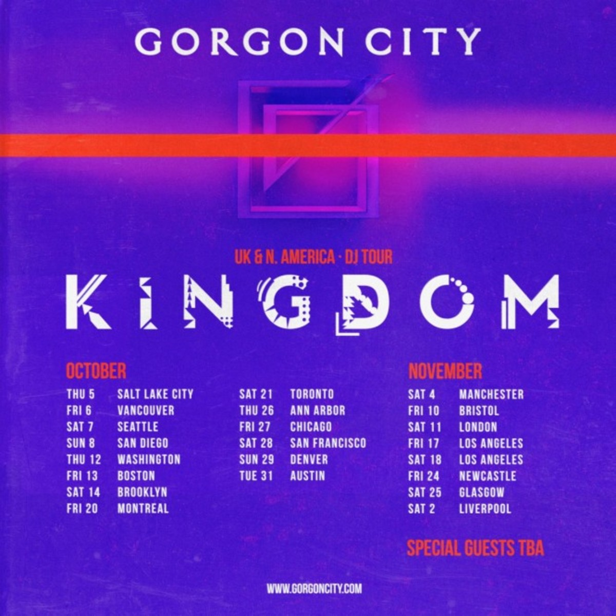 Gorgon City - Kingdom Tour