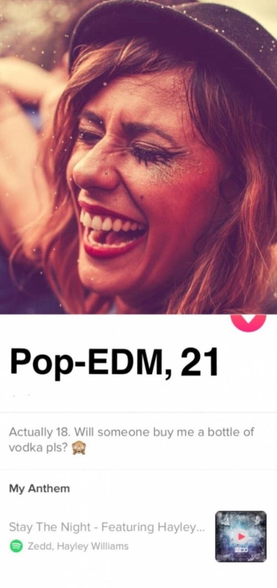 pop-edm tinder