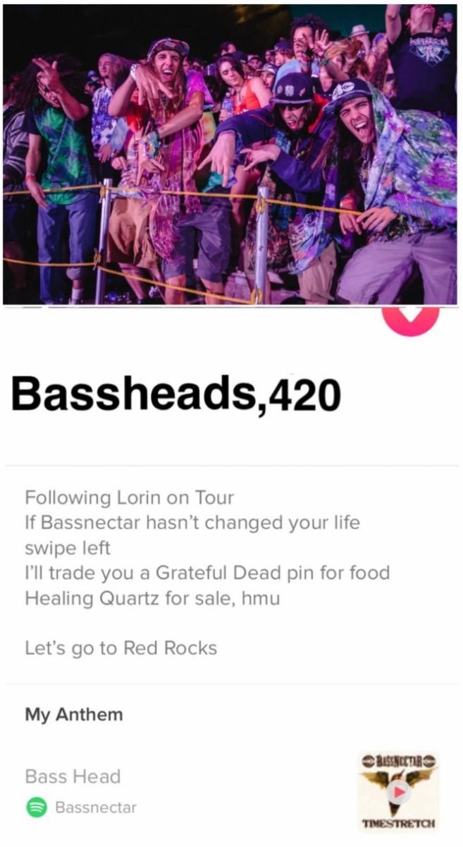 Bassheads Tinder