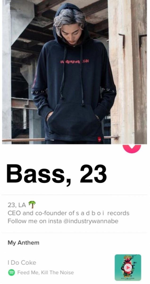 bass tinder