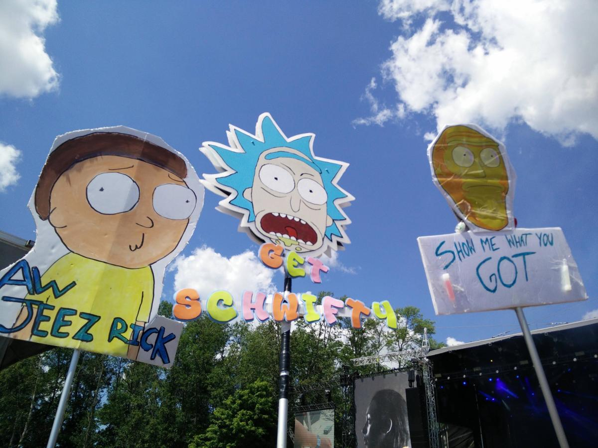 Rick and Morty Totem