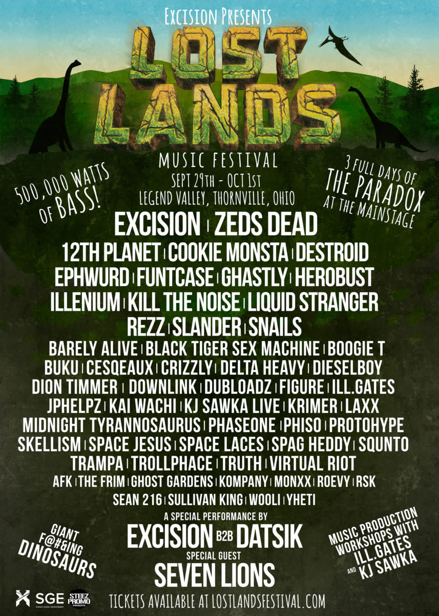 Lost Lands Lineup