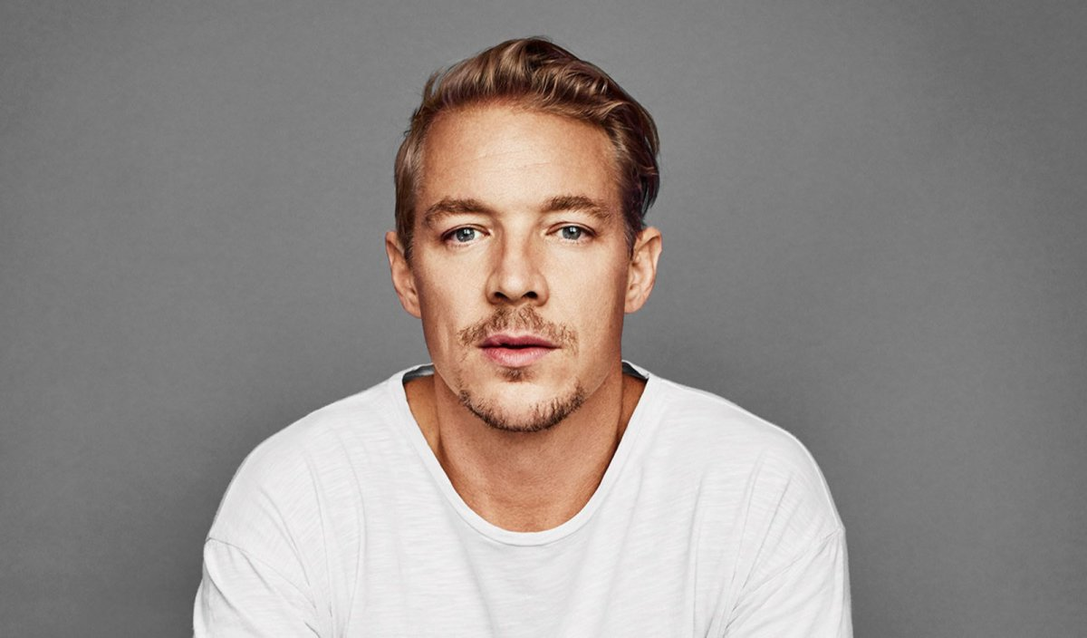Diplo Parachuted into the Venue for his InfieldFest Set During the Preakness Stakes