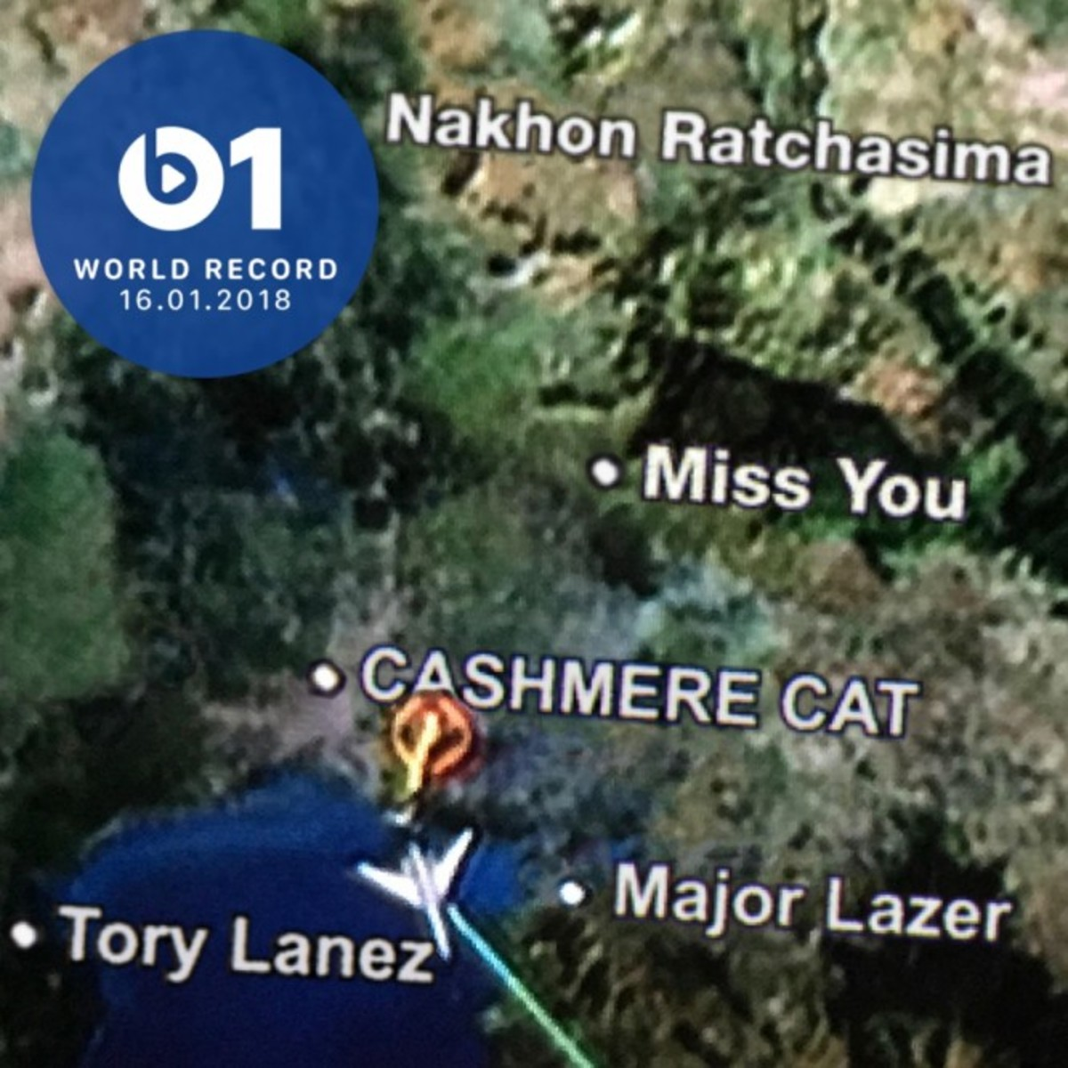Cashmere Cat, Major Lazer, Tory Lanez - Beats 1