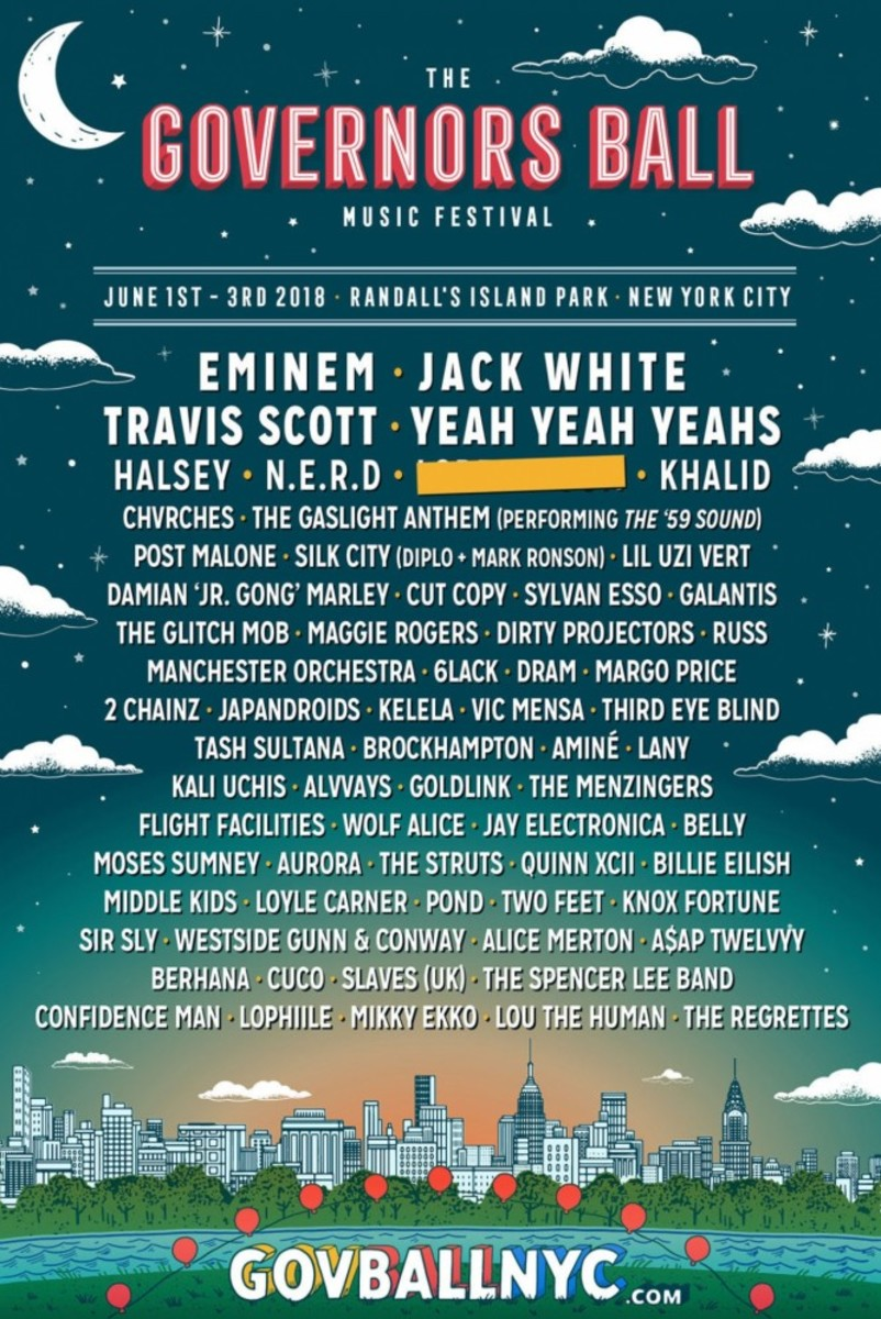 Governors Ball Lineup 2018