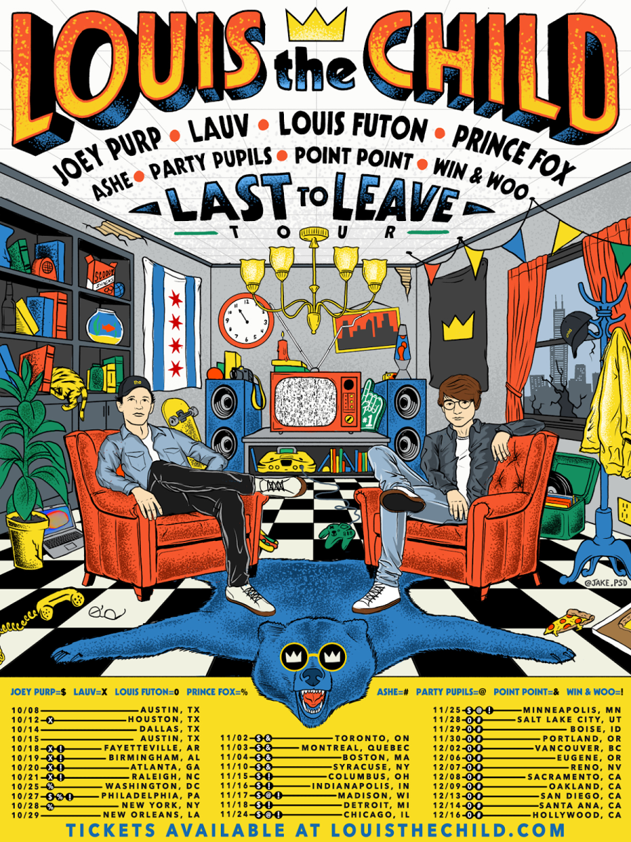 Louis The Child - Last To Leave Tour 2017