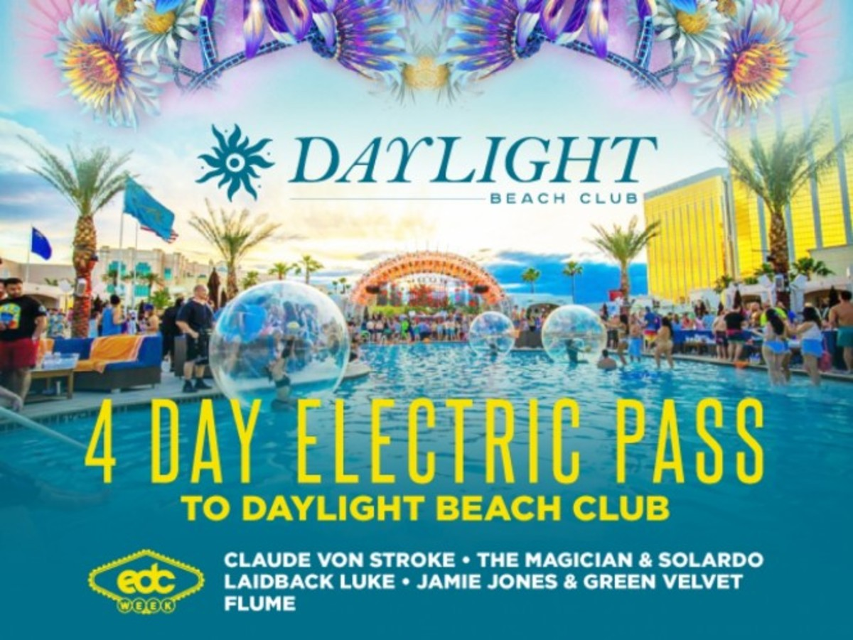 Daylight Beach Club EDC Weekend