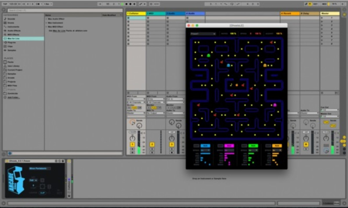 Pac-Man - Ableton Live