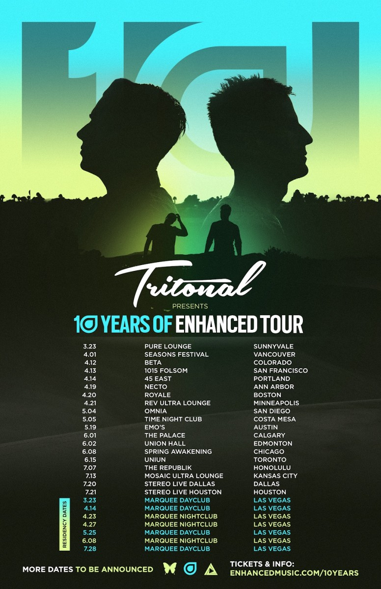 Tritonal - 10 years of Enhanced Tour