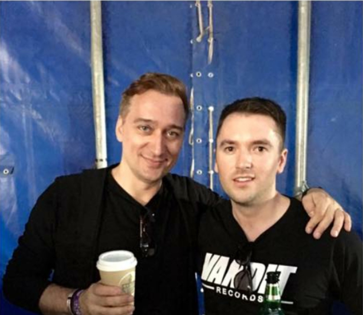 Paul van Dyk and James Cottle
